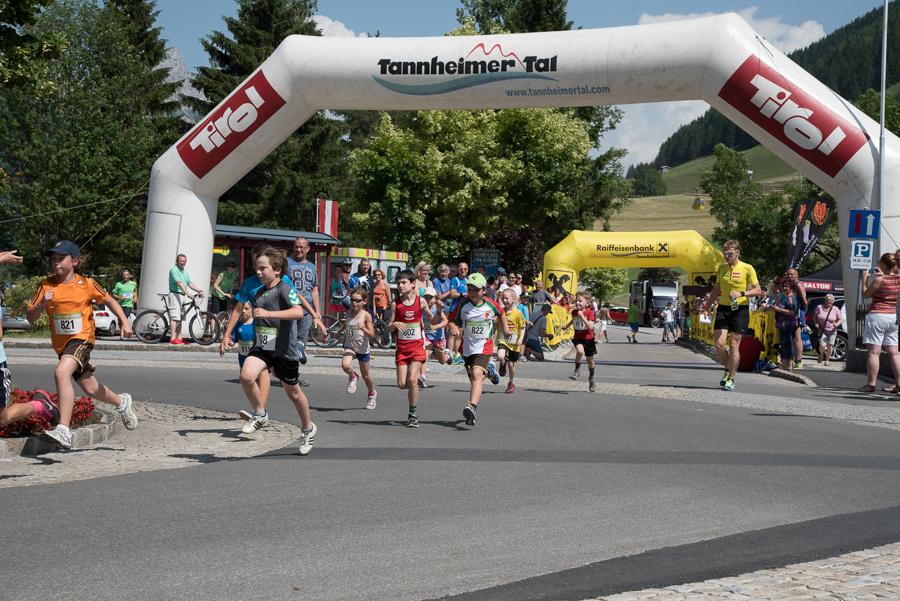 Seen-Lauf Tannheimer Tal 2015 – Kinder